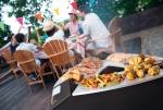 Une plancha au feu de bois pour concocter des plats sains tout l'été
