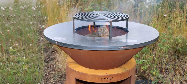 Vente de plancha brasero bois Actuel outdoor à Pertuis et Aix-en-Provence
